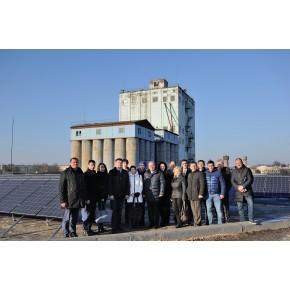"""Відкриття сонячної електростанції на ДП """"Златодар"""", м. Золотоноша"""