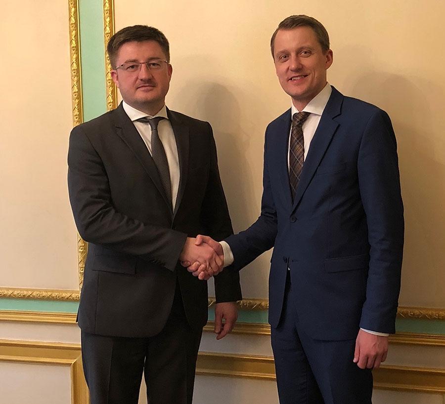 Держрезерв заручився підтримкою Литви в питаннях реформування системи та формування МЗНН