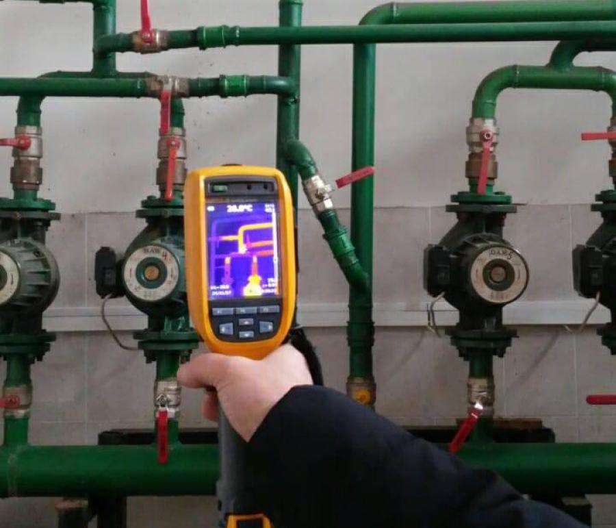 В УкрНДІ «Ресурс» Держрезерву стартував проект по енергоаудиту