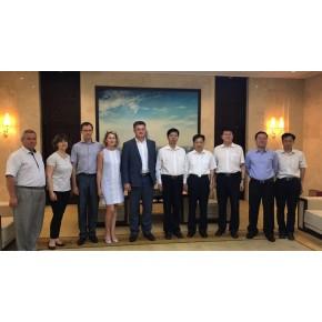 Представники Держрезерву України під час візиту до КНР