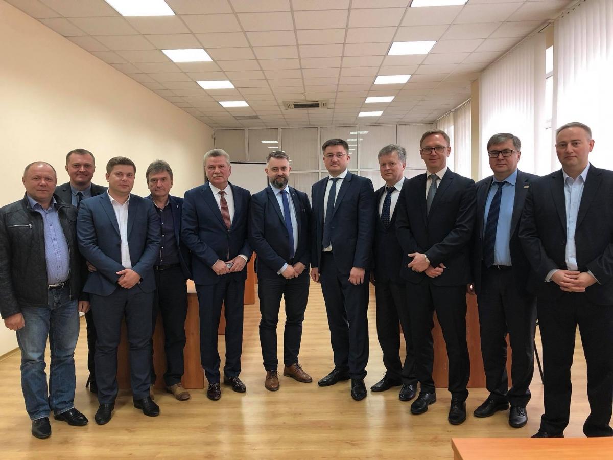 Представники Нафтового концерну ORLEN відвідали Держрезерв b58bded01b2a8