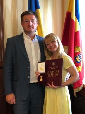 Щиро вітаємо колегу з урядовою нагородою