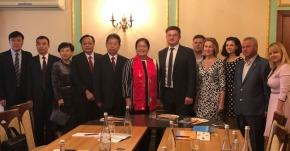 Держагентство резерву України приймало делегацію  з Китайської Народної Республіки