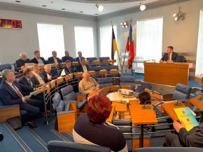 Актуальні питання діяльності Держрезерву розглянули  на засіданні Колегії
